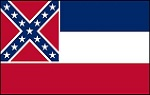 Mississippi Rebel Flag